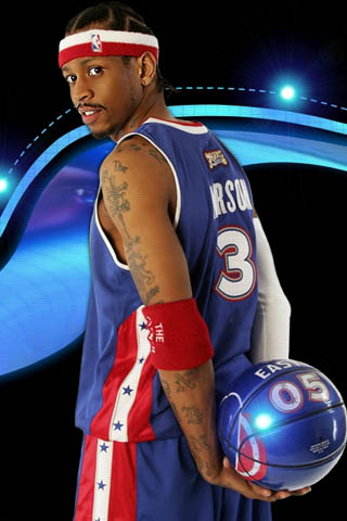 IPhoneZone Allen Iverson Basketball Player IPhone Wallpapers