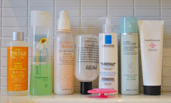 rengöringsprodukter för ansiktet