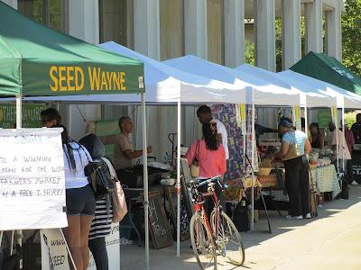 WSU Farmers Market Detroit - SEED Wayne Project