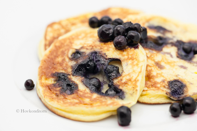 Hovkonditorn: Blueberry Cheesecake Protein Pancakes