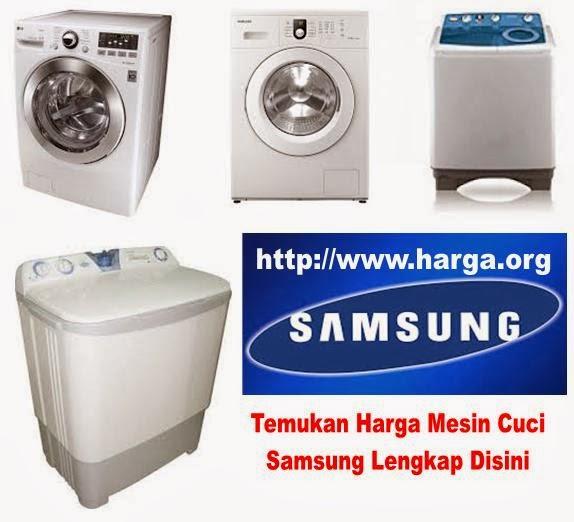 Daftar Harga Mesin Cuci Samsung