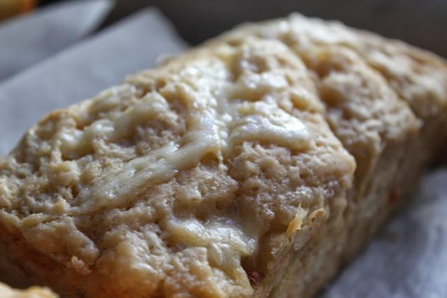 Cheddar-beer bread