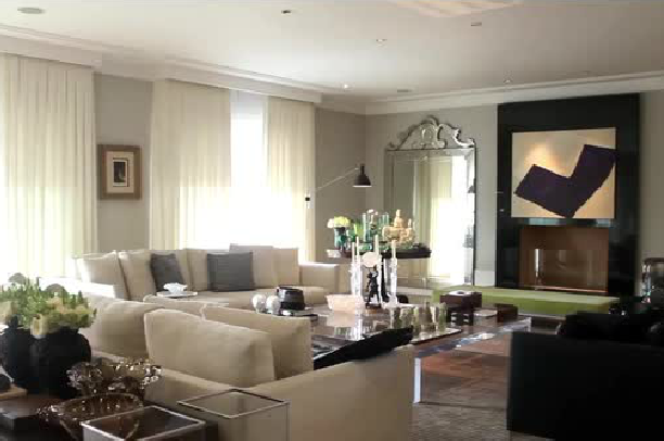 decoracao de interiores de casas de luxo: de apartamentos de luxo decorar para você usar como inspiração