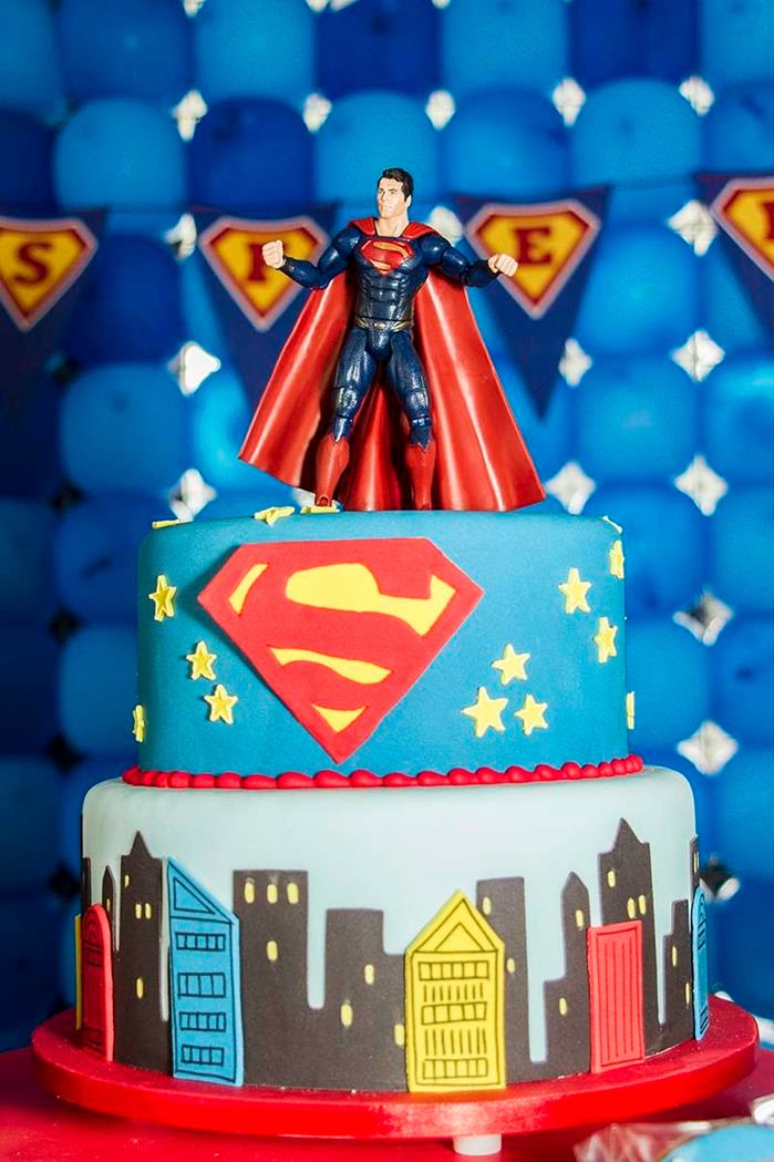 http://www.karaspartyideas.com/2013/09/superman-themed-birthday-party.html