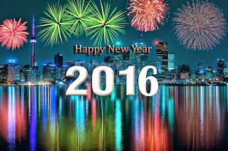 DP Selamat Tahun Baru 2016 Happy New Year Facebook WA