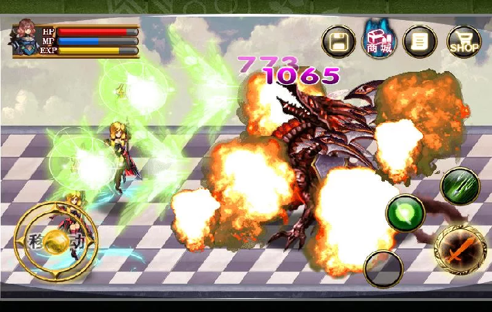 Dragon Battle(ACT) v1.1 Apk for Android