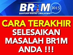 Thumbnail image for Cara Terakhir Selesaikan Masalah BR1M 2015
