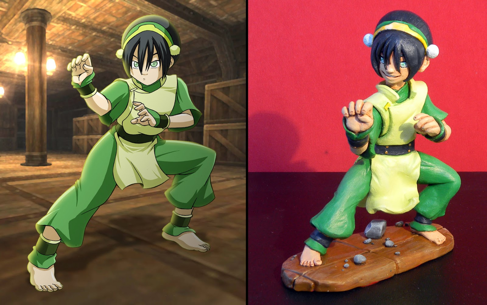Orme magiche toph action figure