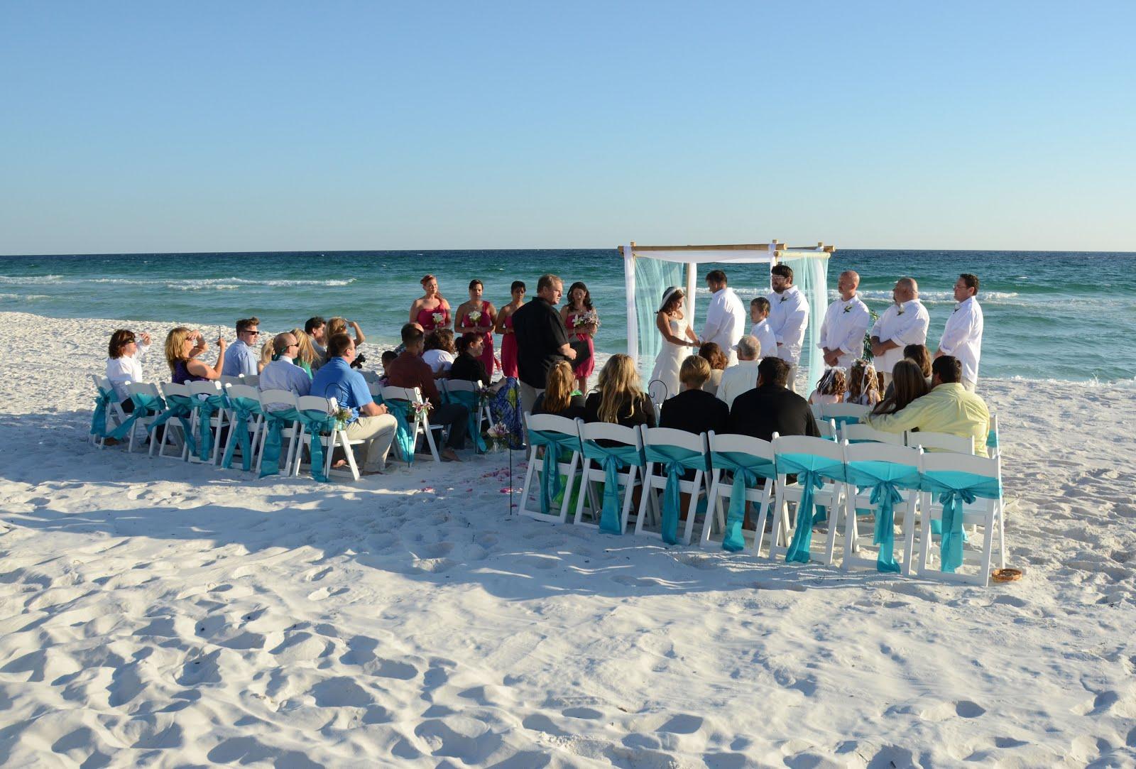 Beach weddings fort walton beach wedding packages sunset beach - A Tip Steps To Take To Plan A Florida Destination Beach Wedding