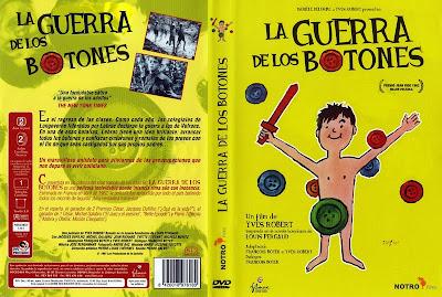Cover DVD: La guerra de los botones | 1962 | La guerre des boutons | Caratula