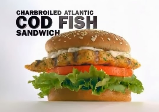 Pop culture on wax hardee 39 s carl 39 s jr charbroiled for Hardee s fish sandwich