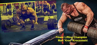 Matt 'Kroc' Kroczaleski Workout