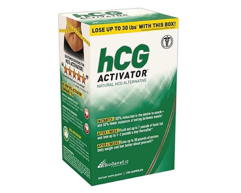 hcg activator capsules, box