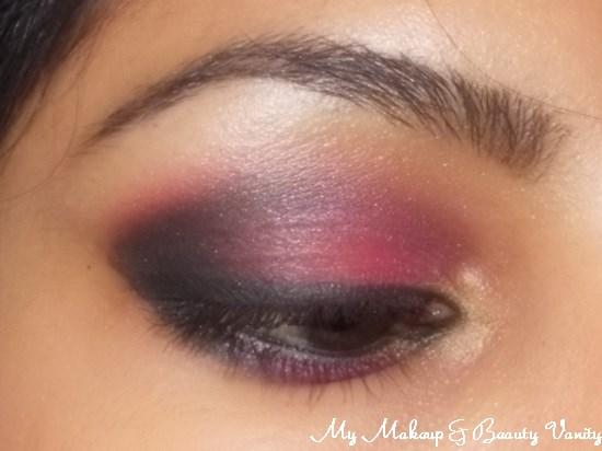 Eye-Makeup-Look-Pink-Secret+smokey eye+smokey eye makeup+natural smokey eye