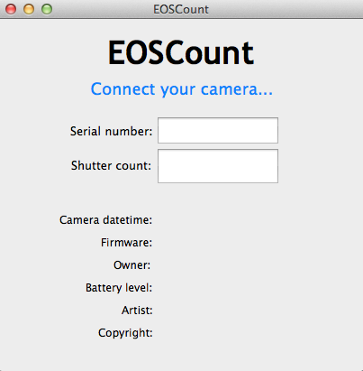 photosaddict, shutter count, canon camera, checking, phda, EOScount