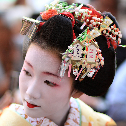 gelled hairstyles : Jody Star Fashion World*: Geisha Hairstyle