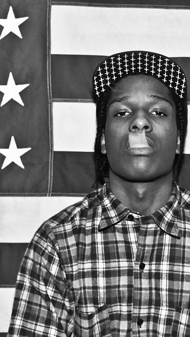 ASAP Rocky iPhone 5 Wallpaper | iPhone 5 Wallpapers Gallery
