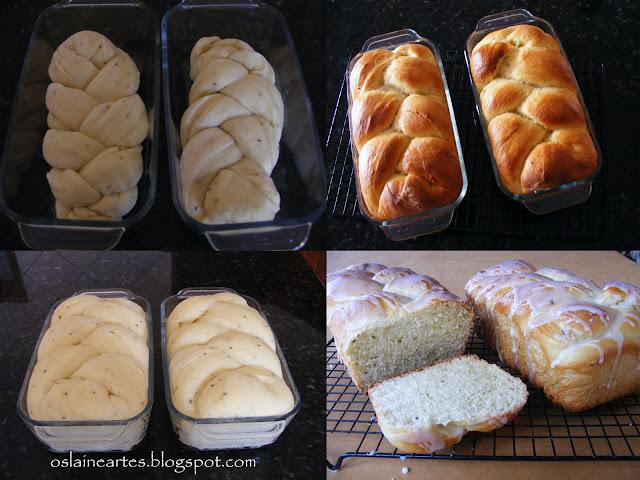 Pão Doce Trançado