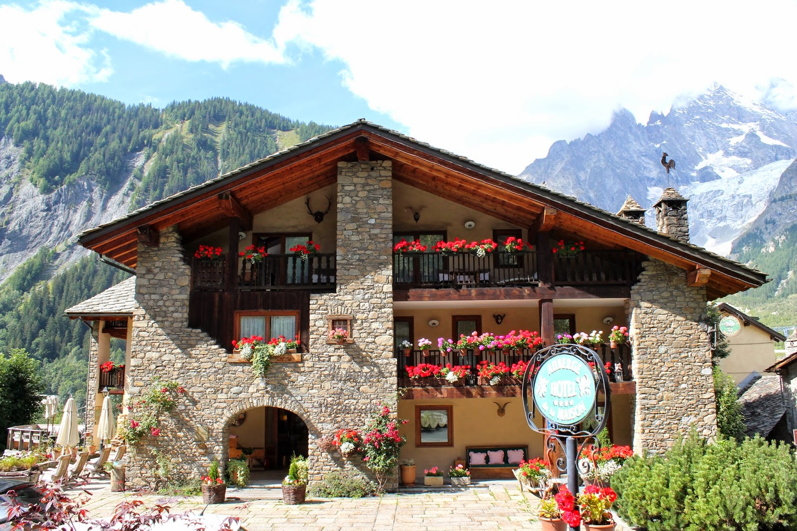 Bella pummarola courmayeur photo diary pt 1 for Auberge de la maison courmayeur italy