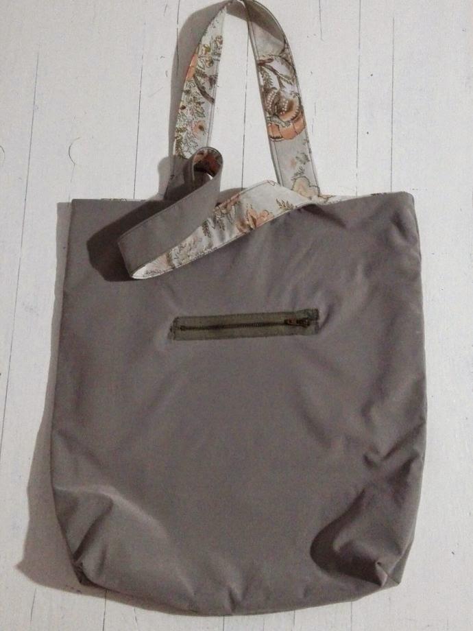 fermuarlı yazlık kumaş çanta