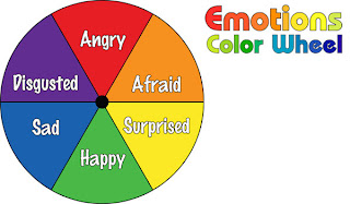 Do2learn Emotions Color Wheel Part I
