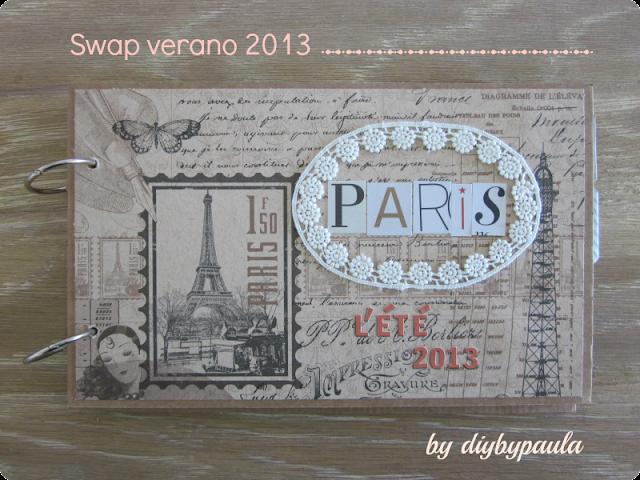Album de scrapbooking sobre París