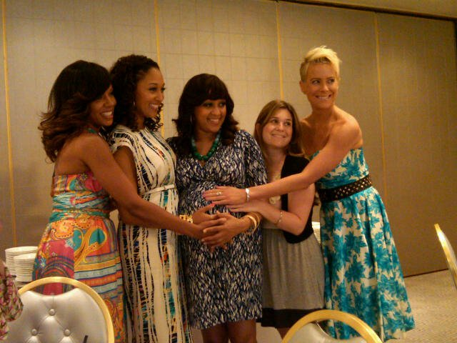 Petit Tresor Hosts A Baby Shower For Tia Mowry Baby Chic News
