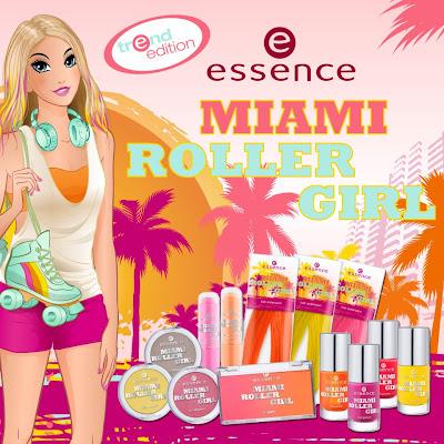 Zapowiedź: Essence Miami Roller Girl LE