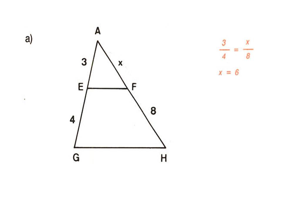 Calcule O Valor De X  Sabendo Que EF    GH