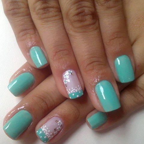 imagenes de uñas decoradas con diseño de uñas, gel  - Imagenes De Unas Pintadas Con Flores