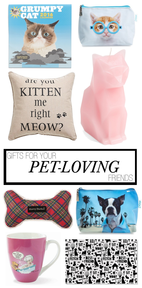 GIFT GUIDE FOR CAT AND DOG LOVERS