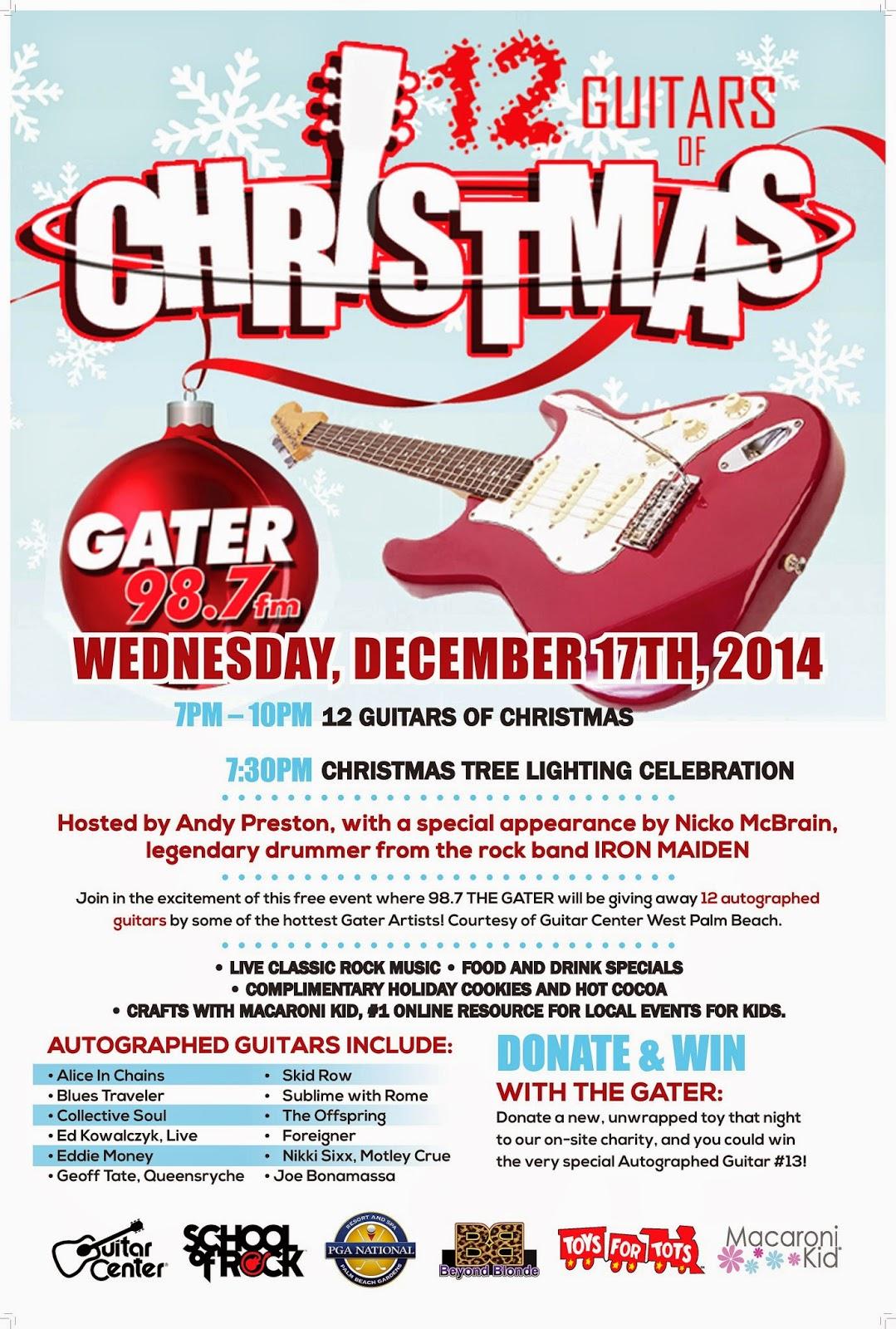 12 Guitars of Christmas Rockin\' Holiday Party at PGA National ...