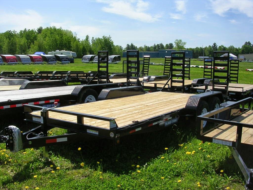 Michaud39s Trailers Winslow Maine Sure Trac Equipment Trailers