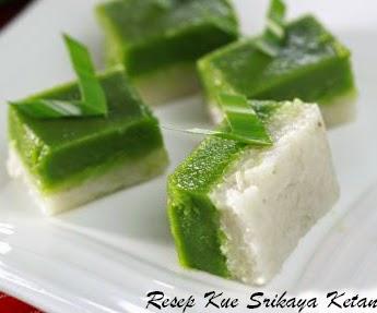 Resep Kue Srikaya Ketan | Srikaya Pulut | Resep Kue Basah