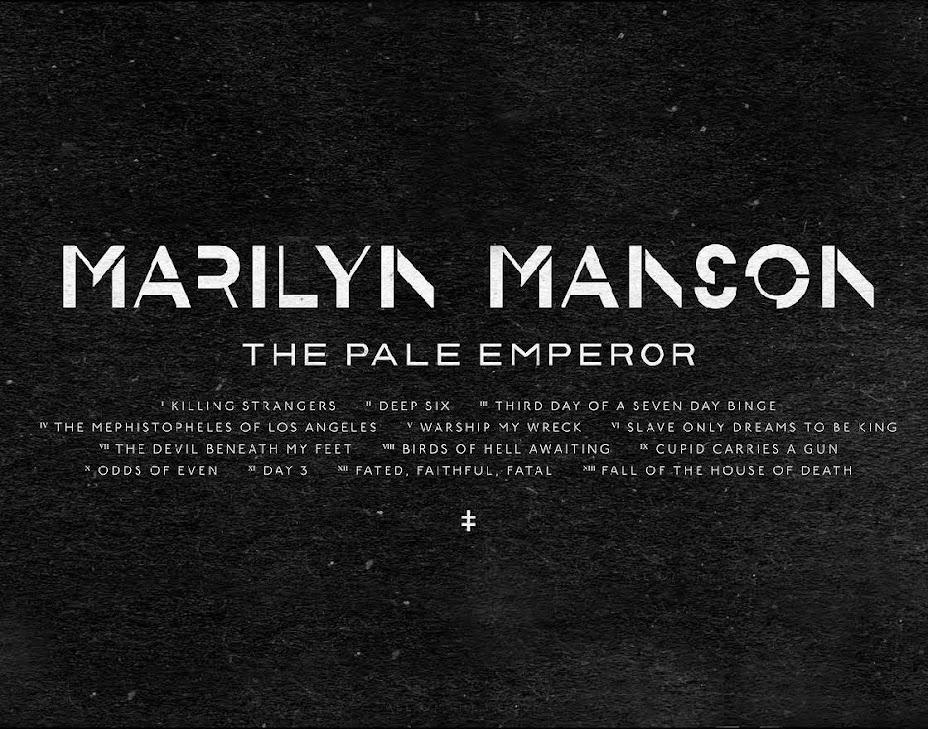 O O O O O  The Pale Emperor - A Marilyn Manson Blog O O O O O