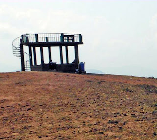 Hilltop watch tower at Mugilupete hills