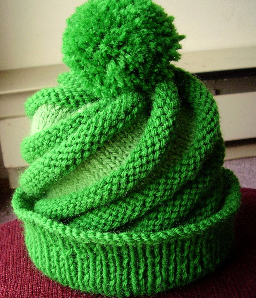 Free Knitting Patterns For Hats In The Round : hat knitting pattern-Knitting Gallery