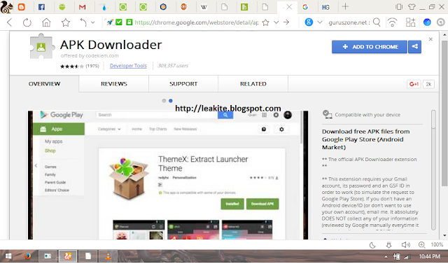 How to download APKs from Google PlayStore via PC web browser