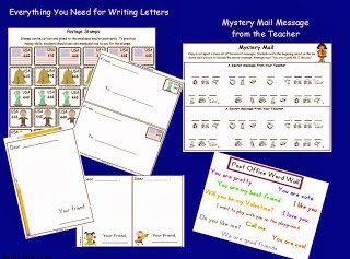 http://www.teacherspayteachers.com/Product/Post-Office-and-Mail-Unit-537793