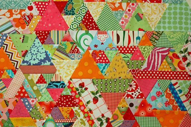 Magnolia Bay Quilts: 60-Degree Quilt Tutorial - Part 1 : 60 degree triangle quilt - Adamdwight.com