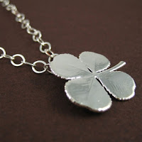 Silver Clover Leaf Necklace