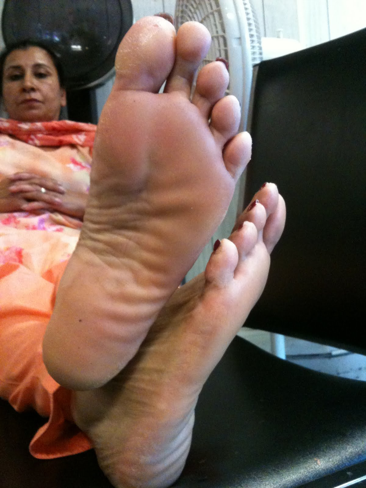 image Rough soles wife mature sleeping