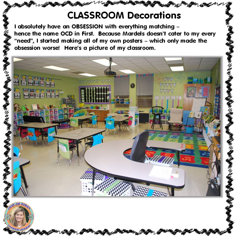Summer Classroom Decorations : Summer stock up classroom decorations ocd in first