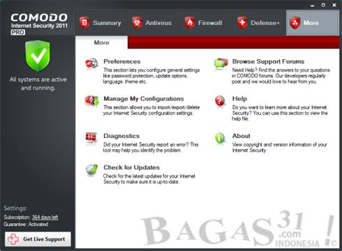 Comodo Internet Security 2011 2