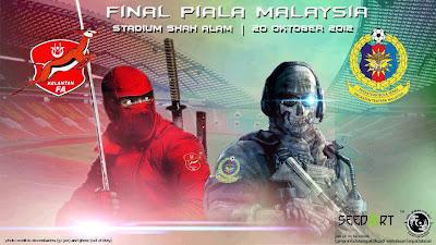 Keputusan Perlawanan KELANTAN vs ATM  Final Piala Malaysia 20 Oktober 2012