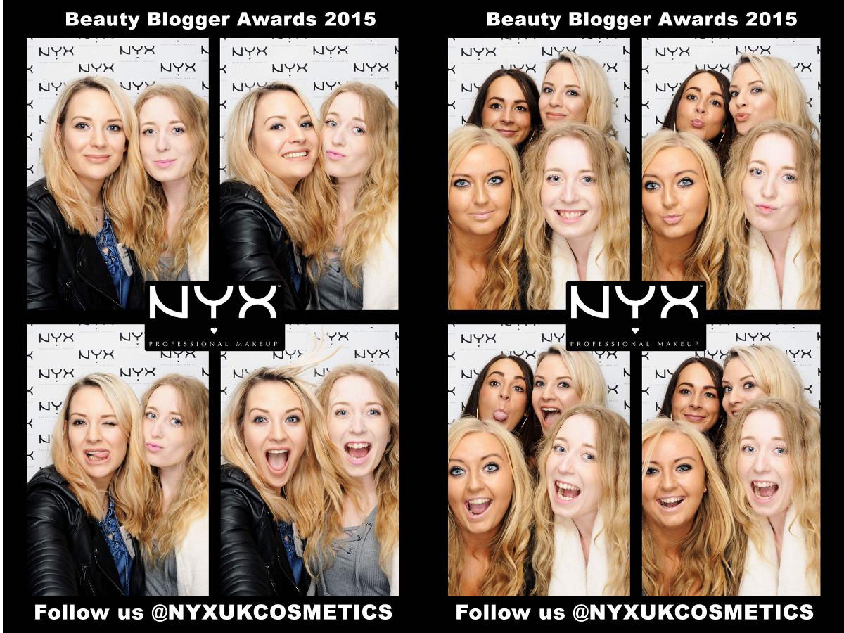 nyx photobooth bblogger awards