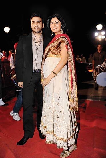 Actress Shilpa Shetty Baby Photos