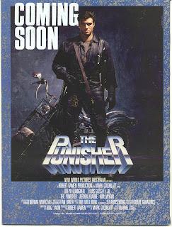 Amerikansk poster for The Punisher (1989)