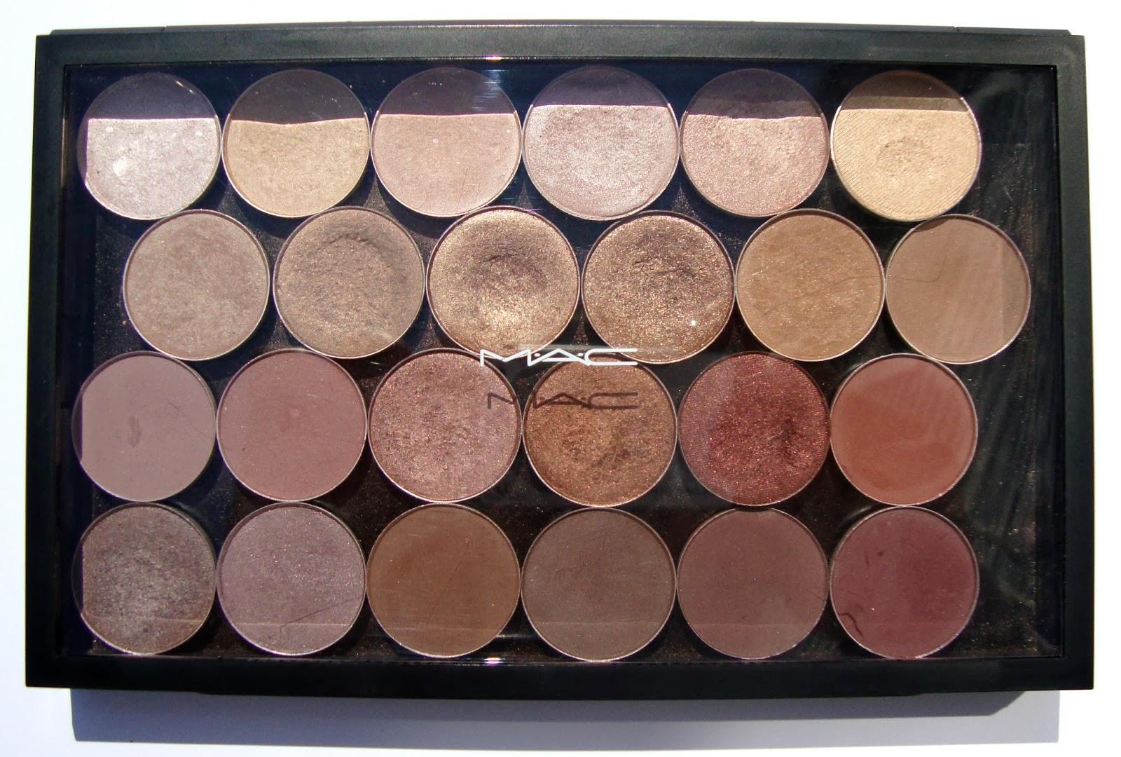 Краски для лица. Тени M.A.C. Cosmetics: ОДЕВАЙСЯ ЛЕГКО