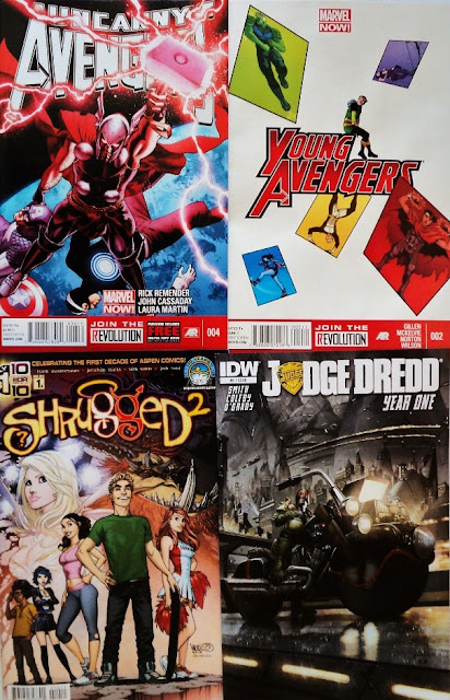 March comic books / cómics de marzo